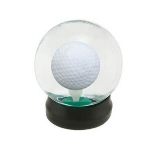 golf ball water globe