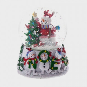 musical snow globes uk