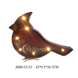 Merry Christmas Iron bird