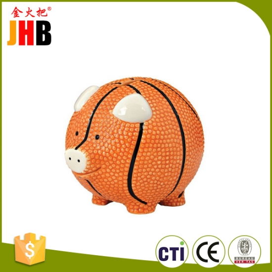 Basketball Piggy Bank