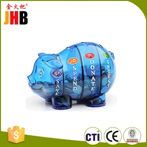 Plastic Money Savvy Pig